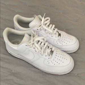 Men's Nike Air Force One white 12